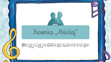 Plansza do Piosenki Mikołaj